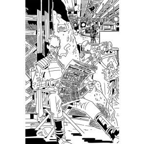 Skybound X (2021) #5 VF/NM 1:10 Retailer Incentive Cover D (Black & White)