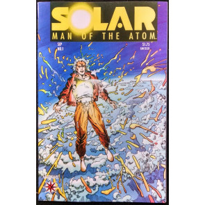 SOLAR, MAN OF THE ATOM #1 NM OR BETTER PRE-UNITY VALIANT