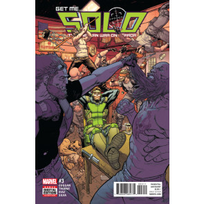 Solo (2016) #3 VF/NM Mike Hawthorne Cover