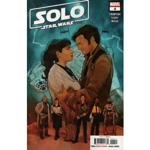 Solo: A Star Wars Story (2018) #4 VF/NM Phil Noto Cover