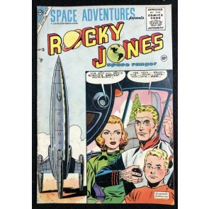 Space Adventures (1952) #18 VG/FN (5.0) featuring Rocky Jones Space Ranger