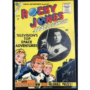 Space Adventures (1952) #15 FN- (5.5) featuring Rocky Jones Space Ranger