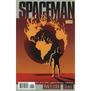 SPACEMAN #9 OF 9 NM FINAL ISSUE VERTIGO AZZARELLO RISSO