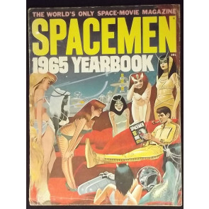 SPACEMEN 1965 YEARBOOK GD WARREN