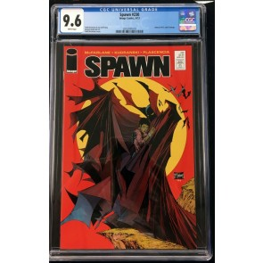 Spawn (1992) #230 CGC 9.6 Batman #423 McFarlane cover homage (2016787019)