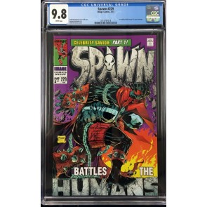Spawn (1992) #229 CGC 9.8 Hulk Annual #1 Steranko cover homage (2016787018)