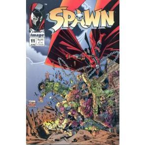 Spawn (1992) #11 VF/NM Frank Miller Todd McFarlane Cover Image Comics
