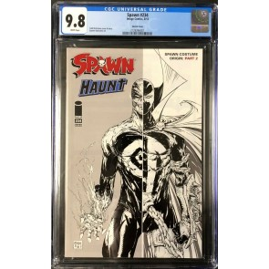 Spawn (1992) #234 Sketch Variant CGC 9.8 White Pages (2128266001)