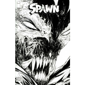 Spawn (1992) #292 VF/NM-NM Mattina & Todd McFarlane Black & White Cover C