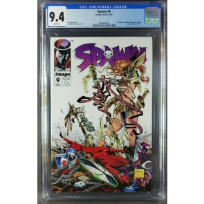 Spawn #9 (1993) CGC 9.4 NM WP 1st Appearance of Angela (3821091005)|