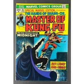 Special Marvel Edition (1971) #16 FN/VF (7.0) 1st App Midnight 2nd App Shang-Chi