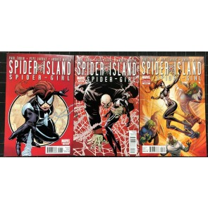 Spider Island Amazing Spider-Girl (2011) #1 2 3  VF/NM (9.0) complete set