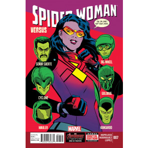 SPIDER-WOMAN (2014) #7 VF/NM