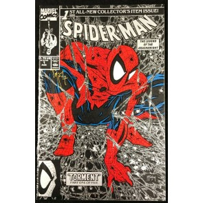 Spider-Man (1990) #1 NM (9.4) signed by Todd McFarlane