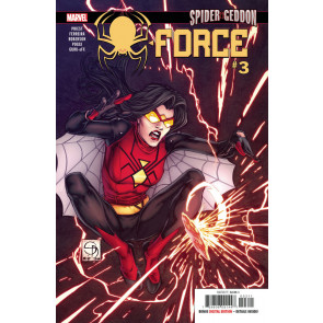 Spider-Force (2018) #3 VF/NM Shane Davis Cover