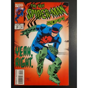 Spider-Man 2099 #19 (1994) NM- (9.2) new costume includes trading cards|