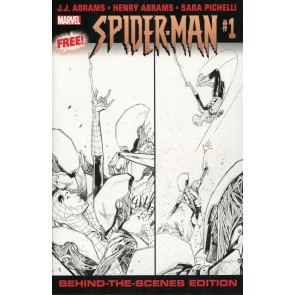 Spider-man (2019) #1 VF/NM Humberto Ramos Party Sketch Variant Behind The Scenes