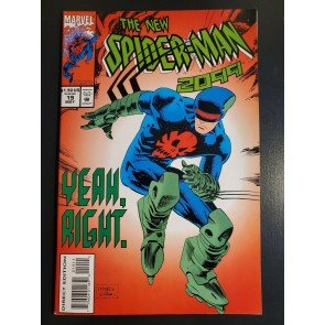 Spider-Man 2099 #19 (1994) VF+ Leonardi, Batista, with 3 Trading Cards intact |