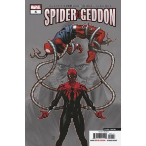 Spider-Geddon (2019) #4 VF/NM 2nd print variant cover Spider-Man