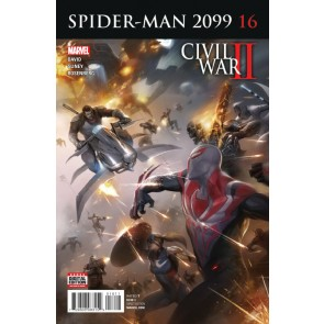Spider-Man 2099 (2015) #1'6 VF/NM Mattina Cover Civil War II Tie-In