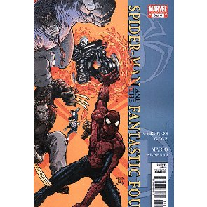 SPIDER-MAN AND THE FANTASTIC FOUR #3 OF 4 NM