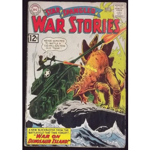STAR SPANGLED WAR STORIES #105 GD/VG DINOSAUR COVER
