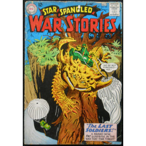 STAR SPANGLED WAR STORIES #109 GD/VG DINOSAUR ISSUE