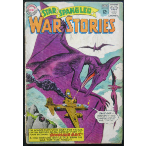STAR SPANGLED WAR STORIES #113 GD- DINOSAUR ISSUE
