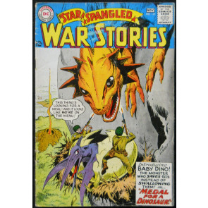 STAR SPANGLED WAR STORIES #117 VG+ DINOSAUR ISSUE