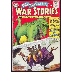 STAR SPANGLED WAR STORIES #122 VG/FN DINOSAUR COVER AND STORY