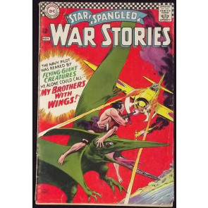 STAR SPANGLED WAR STORIES #129 GD/VG DINOSAUR COVER