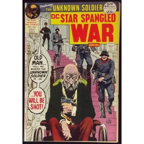 STAR SPANGLED WAR STORIES #163 JOE KUBERT