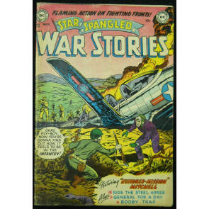 STAR SPANGLED WAR STORIES #3 VG
