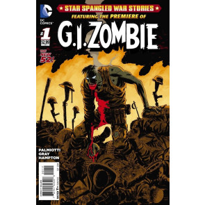 STAR-SPANGLED WAR STORIES - G.I. ZOMBIE (2014) #1 VF- THE NEW 52!