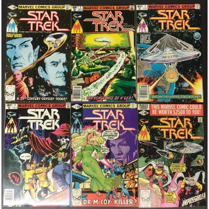 Star Trek (1980) 1-18 VF+ (8.5) complete high grade set Marvel Comics