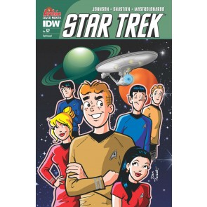 Star Trek (2011) #52 VF/NM-NM Dan Parent Archie Cover Month Variant Cover IDW