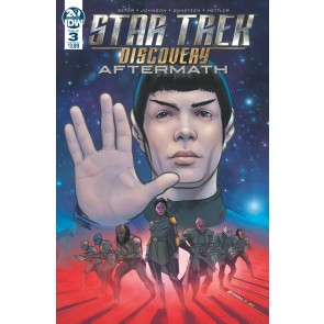 Star Trek: Discovery - Aftermath (2019) #3 VF/NM Angel Hernandez Cover IDW