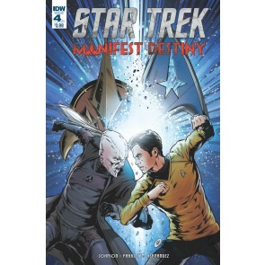 Star Trek: Manifest Destiny (2016) #4 of 4 VF/NM Klingon Variant IDW