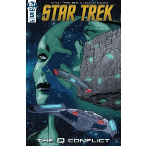 Star Trek: The Q Conflict (2019) #5 VF/NM David Messina Cover IDW
