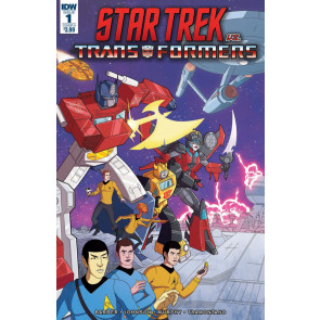 Star Trek vs. Transformers (2018) #1 VF/NM	Philip Murphy Cover IDW