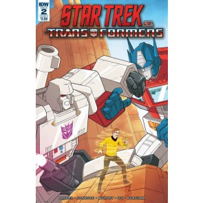 Star Trek vs. Transformers (2018) #2 of 5 VF/NM IDW