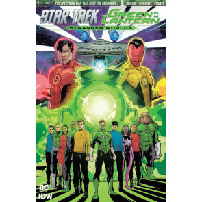 Star Trek/Green Lantern: Stranger World's (2016) #6 VF/NM IDW DC