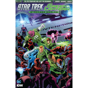 Star Trek/Green Lantern: Stranger World's (2016) #3 VF/NM IDW DC