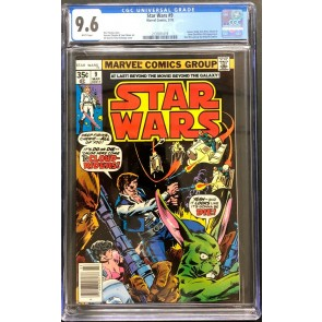 Star Wars (1977) #9 CGC 9.6 white pages (2131871019)