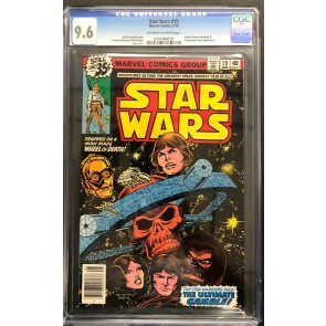 Star Wars (1977) #19 CGC 9.6 off-white to white pages (0161484010)