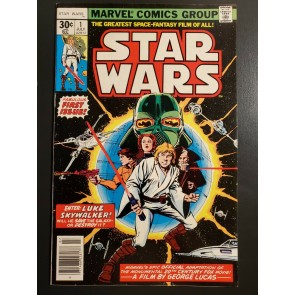 Star Wars #1 (1977) 1st Printing NM- (9.2) High grade 1st ever Star Wars comic|