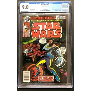 Star Wars (1977) #22 CGC 9.0 white pages (2121906017)