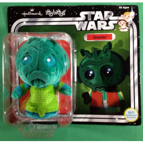 Star Wars (2017) Greedo itty bittys Convention Exclusive Hallmark