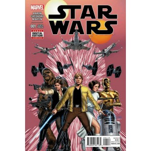 Star Wars (2015) #1 VF/NM-NM 4th Printing Fourth Variant Cover