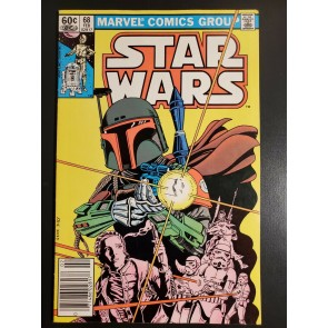 Star Wars #68 (1983) FVF (7.0) 1st appearance of the Mandalorians UPC newsstand|